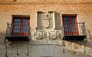 Casas del Tratado Tordesillas Valladolid Castilla Leon Espana  |